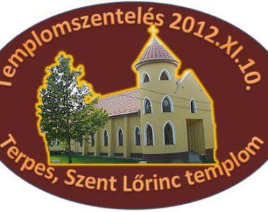 Templomszentelés Terpesen